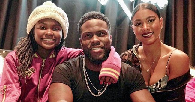 Kevin Hart's Wife Eniko Posts Sweet Memories as She Celebrates His Daughter Heaven's 16th B-Day