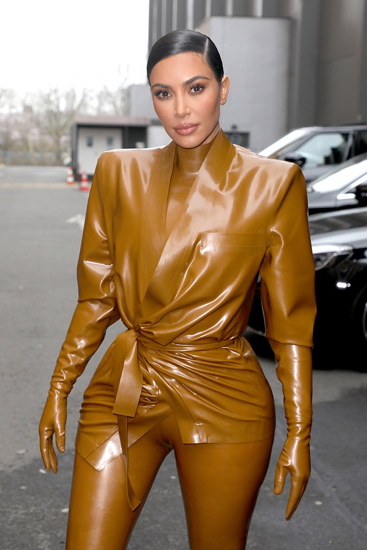 Kim Kardashian attending the Balenciaga show as part of the Paris Fashion Week Womenswear Fall/Winter 2020/2021 in Paris, France in March 2020. I Image: Getty Images.