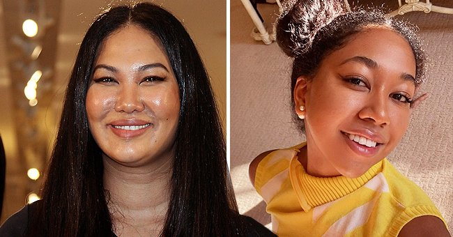 Kimora Lee Simmons' Daughter Aoki Shows Her Slender Figure in a New Beach Photo