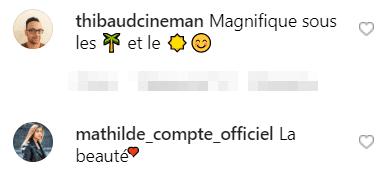 Commentaires des fans. |  Photo : puffdeedee/Instagram