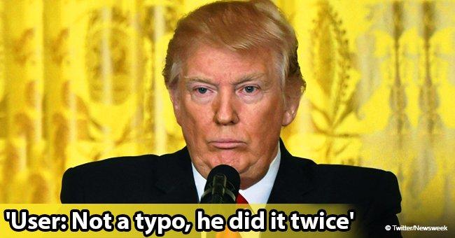 Donald Trump mocked after misspelling 'smoking gun' twice in the same tweet