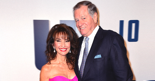 Susan Lucci of 'All My Children' Looks Ageless in Beach Photo Taken by Her Husband Helmut Huber