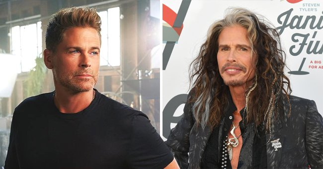 Rob Lowe Talks about Steven Tyler's Support during His Sobriety and Says He's a Big Part of Who He Is Today