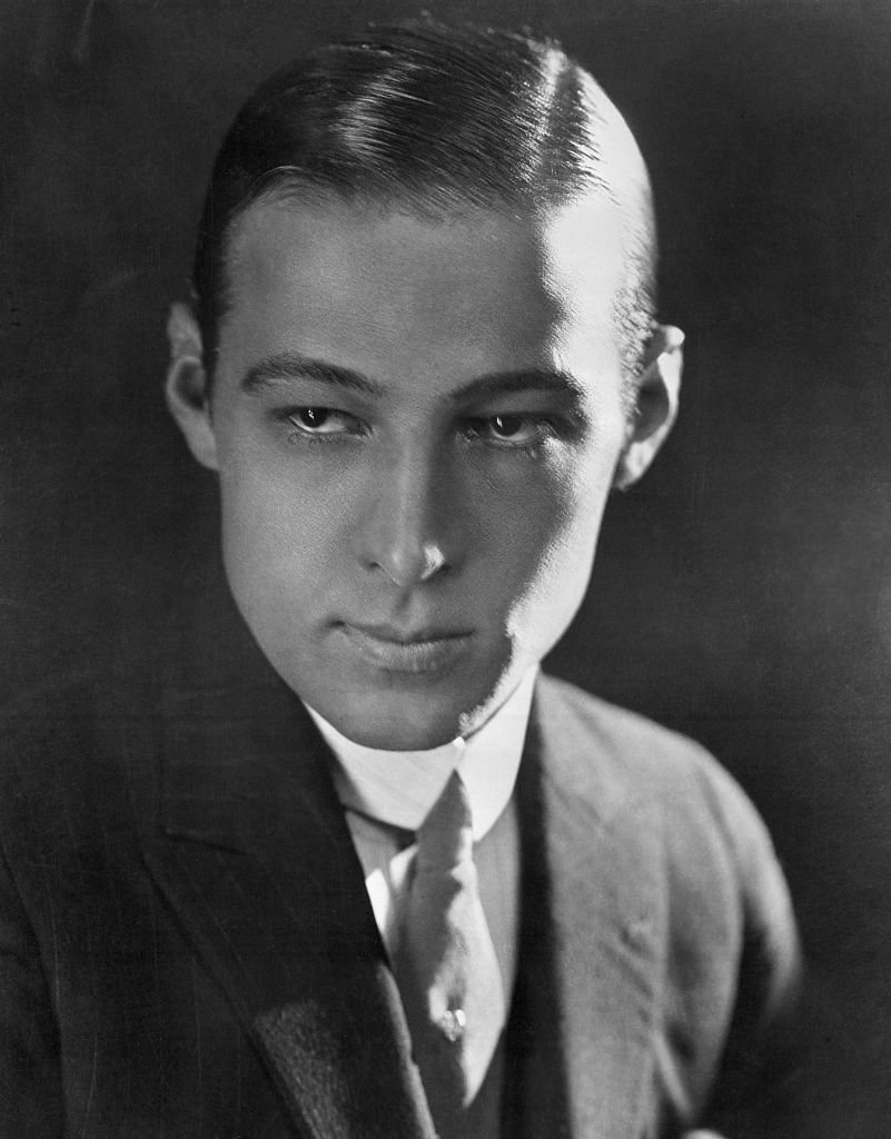 A portrait of Rudolph Valentino on 01 January, 1900 | Photo: Getty Images