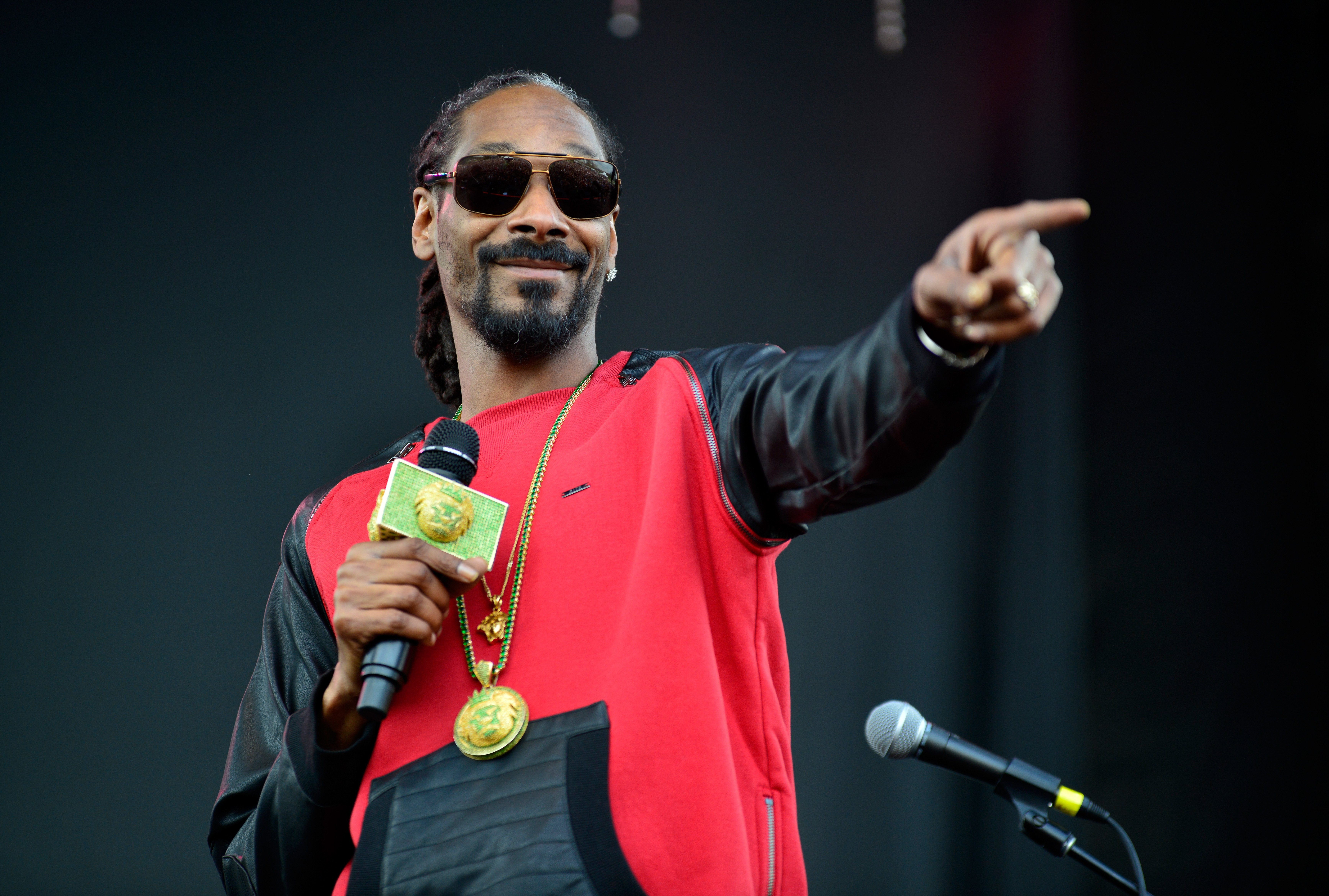 Snoop Dogg at the SXSW Music, Film + Interactive Festival on March 15, 2014 in Texas   Photo: Getty Images