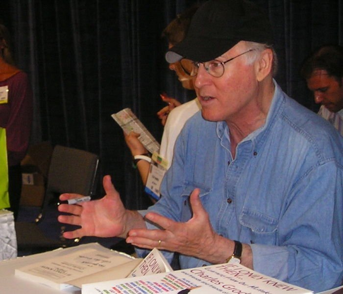 Charles Grodin at Book Expo in 2007. | Source: Wikimedia Commons