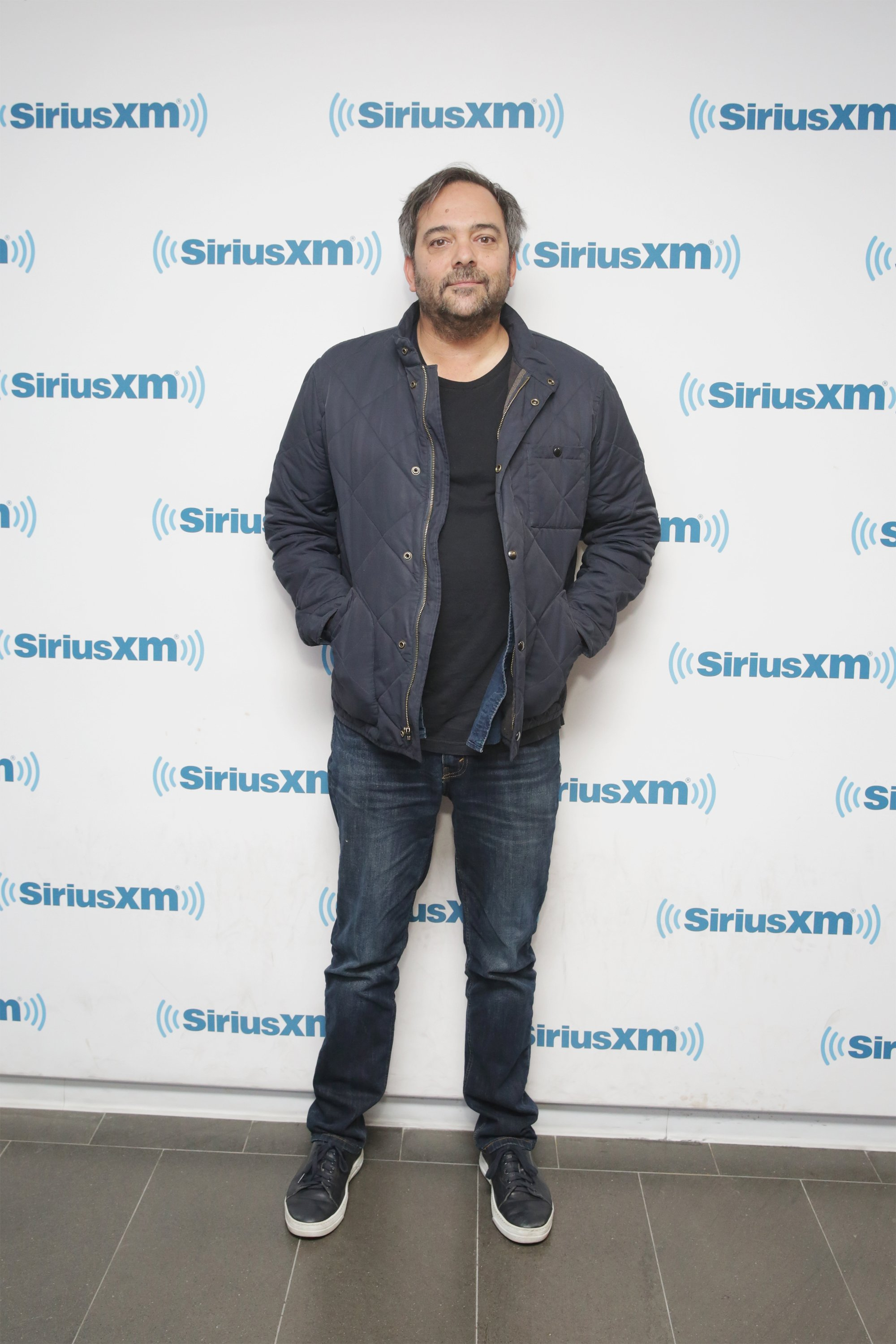 Adam Schlesinger at the SiriusXM Studios on April 19, 2018, in New York City. | Source: Getty Images.