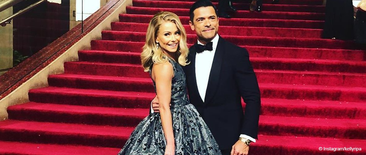 Kelly Ripa Shared Sweet PDA Moment from Husband Mark Consuelos on the Oscars' Red Carpet
