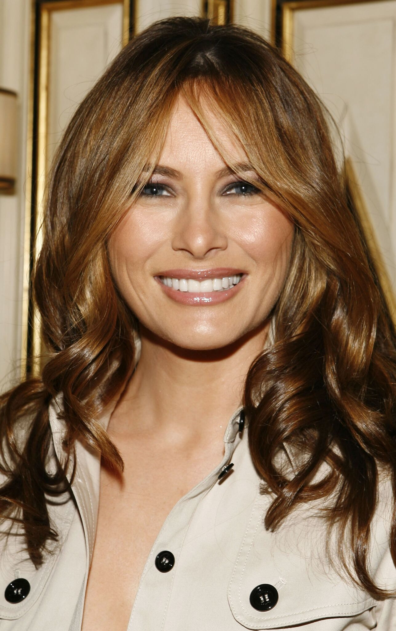 Melania Trump attends the Best & Co. Fashion Show and Breakfast to Benefit Society of Memorial Sloan-Kettering at Bergdorf Goodman on April 12, 2007 | Photo: Getty Images