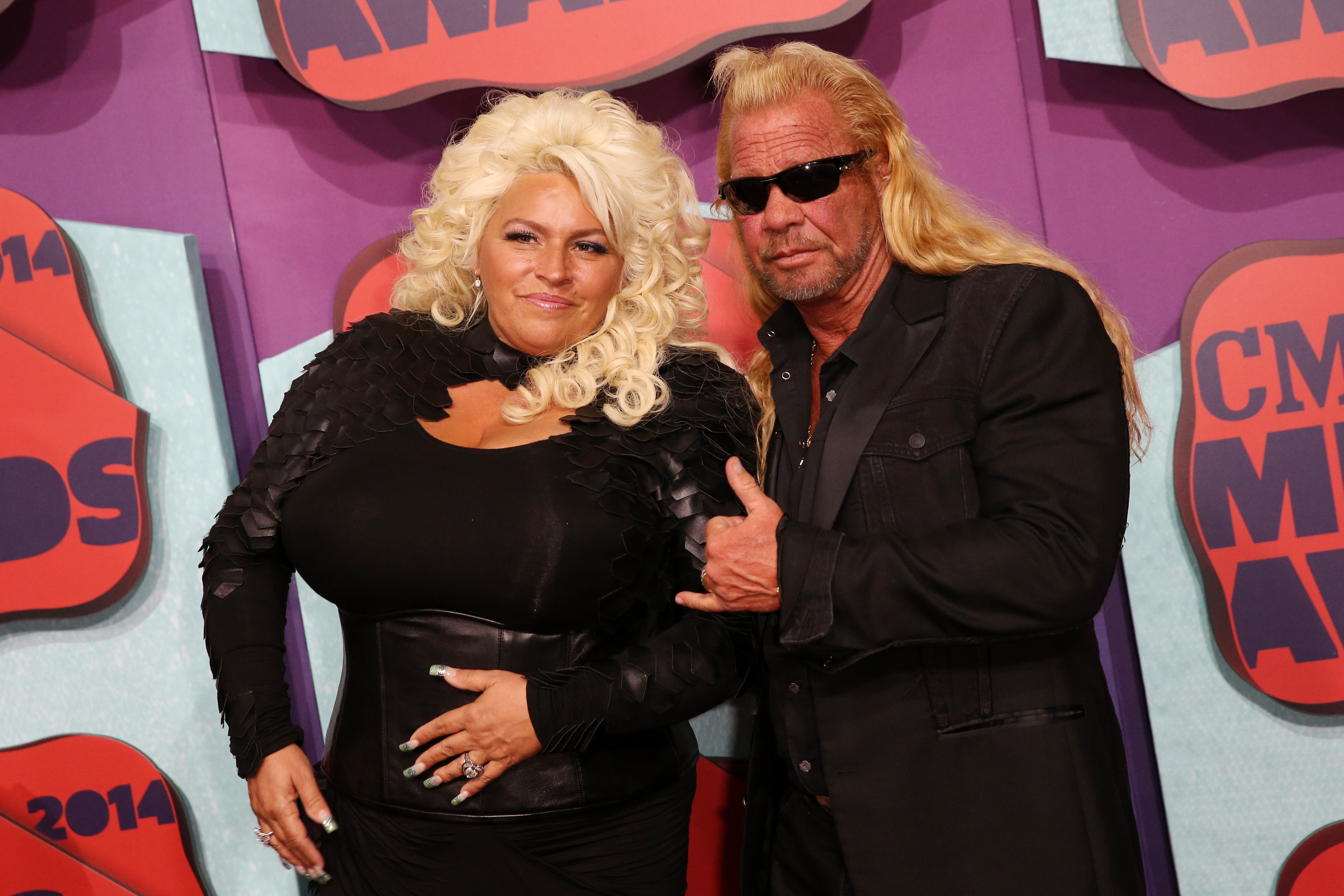 Beth and Duane Chapman at the CMT Music Awards at the Bridgestone Arena on June 4, 2014, in Nashville, Tennessee | Photo: Getty Images