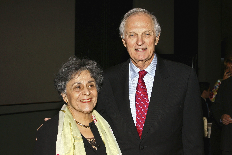 Arlene and Alan Alda. Image Credit: Getty Images