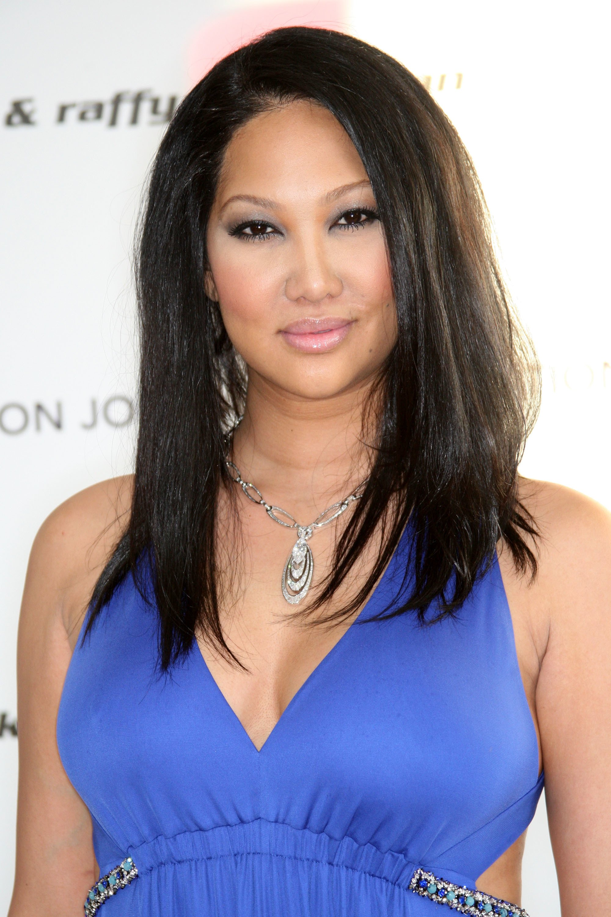 Kimora Lee arrives at the 18th annual Elton John AIDS Foundation Oscar Party on March 7, 2010 in West Hollywood, California | Photo: Getty Images