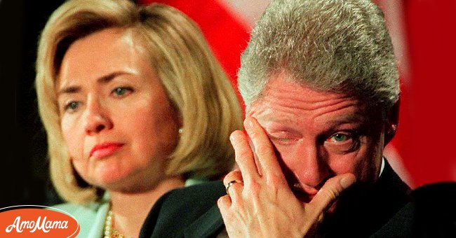 The former President of the United States of America Bill Clinton and his wife Hillary Clinton   Source: Getty Images