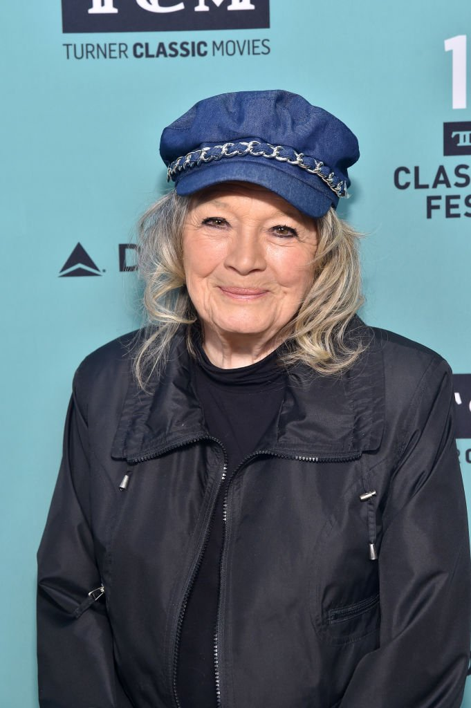 """Angie Dickinson attends the screening of """"The Killers"""" at the 10th Annual TCM Classic Film Festival in Hollywood, California on April 14, 2019 