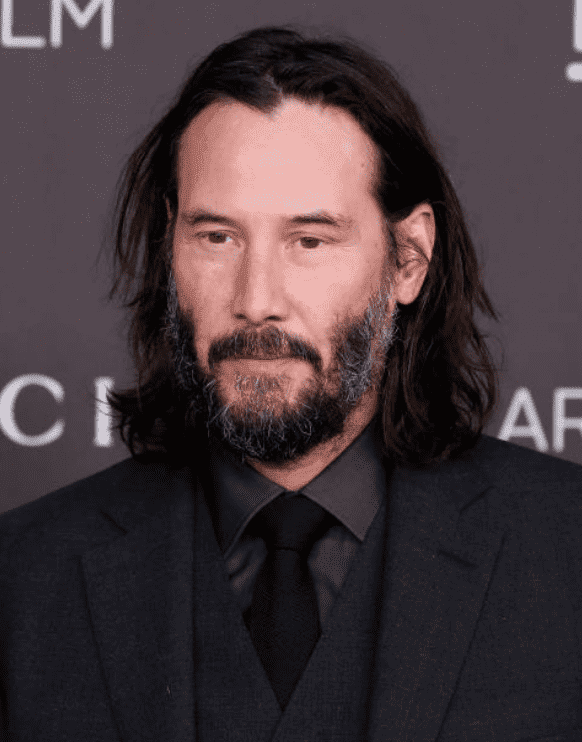 Keanu Reeves attends a red carpet event for the 2019 LACMA Art + Film Gala at LACMA, on November 02, 2019, in Los Angeles, California | Source: Taylor Hill/Getty Images