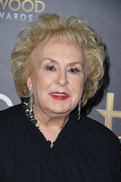 Doris Roberts at The Beverly Hilton Hotel on November 1, 2015 in Beverly Hills, California.   Photo: Getty Images