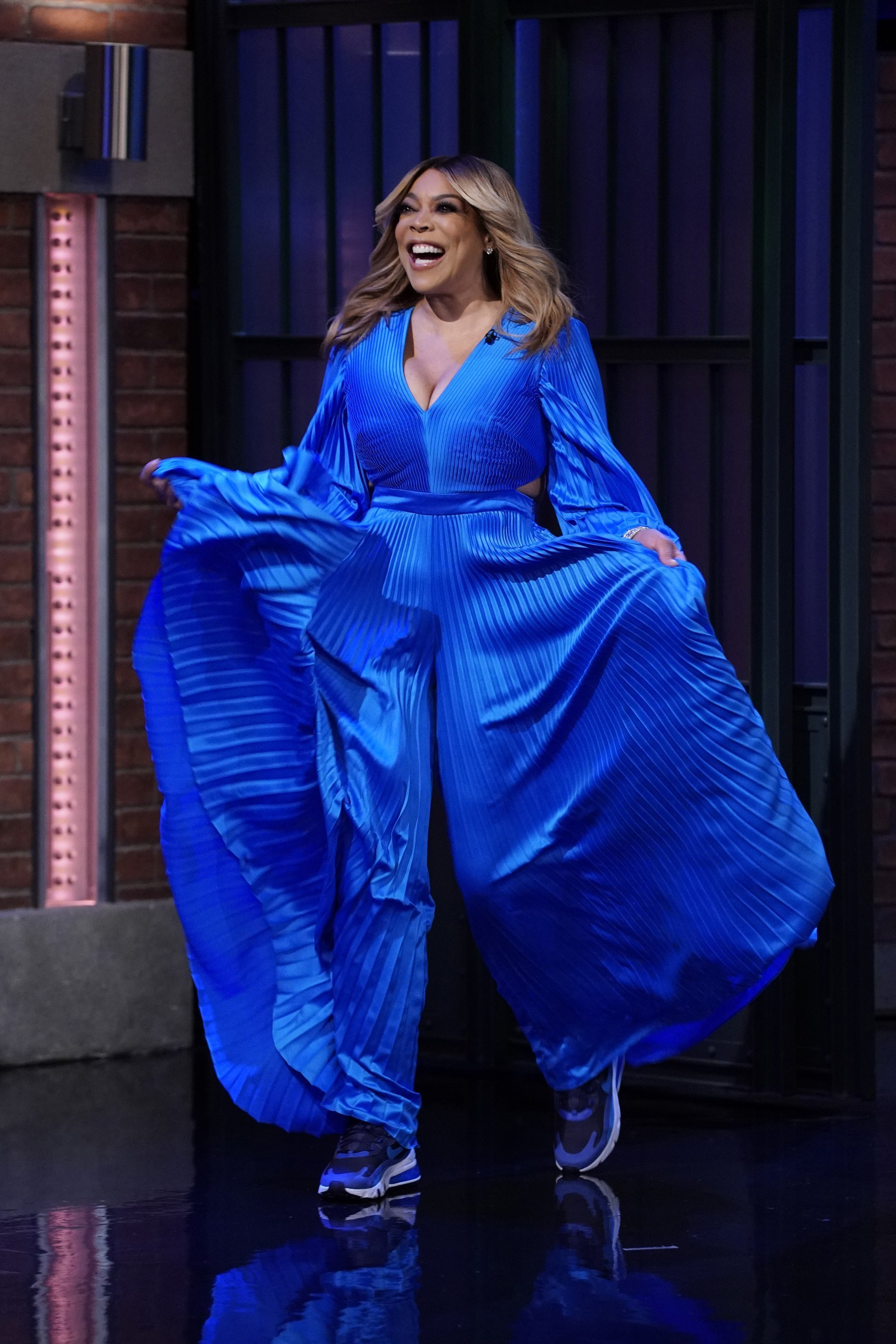 Wendy Williams arriving the set of LATE NIGHT WITH SETH MEYERS on September 12, 2019 | Photo: Getty Images