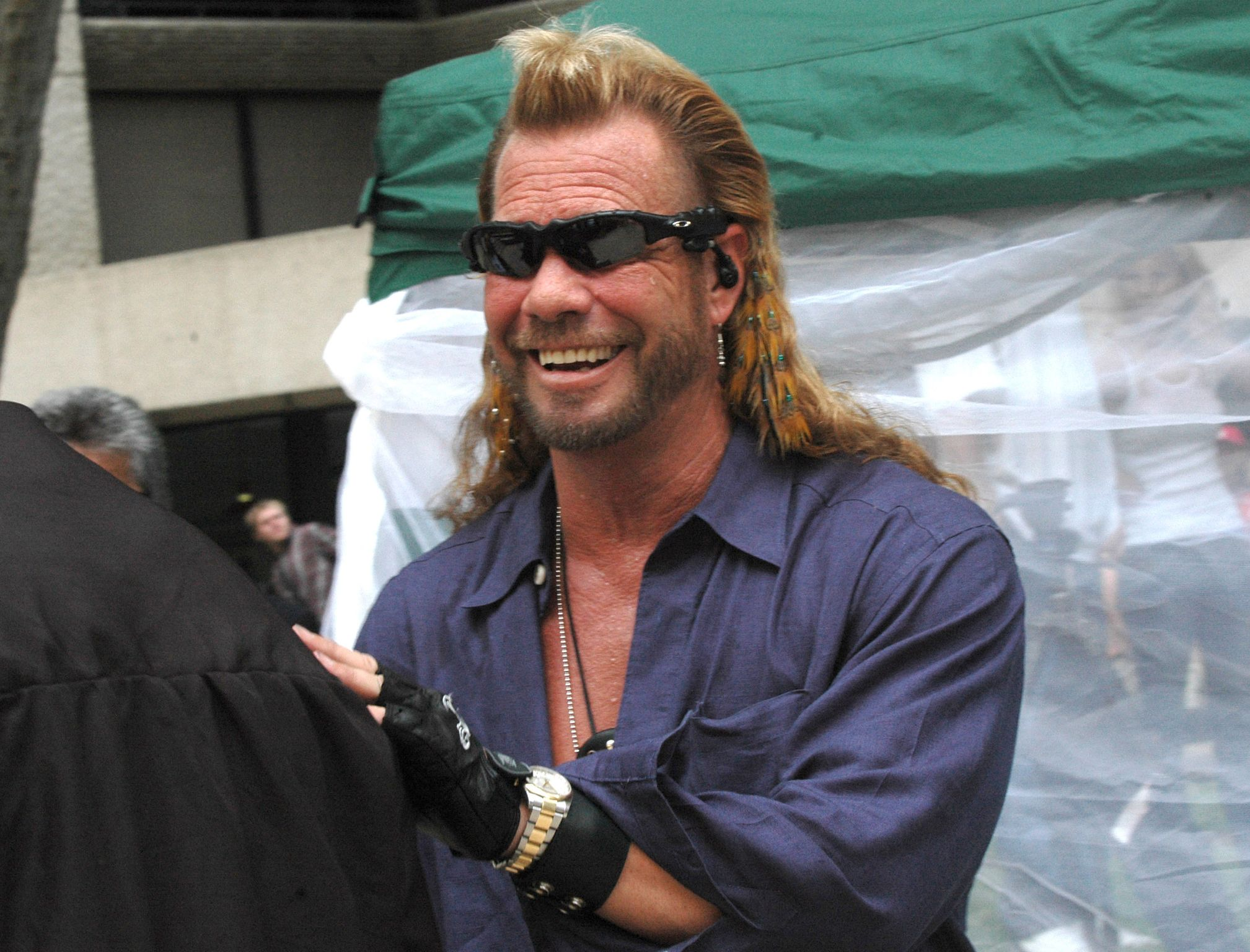 """Duane """"Dog"""" Chapman during March of Dimes Honolulu Fundraiser 
