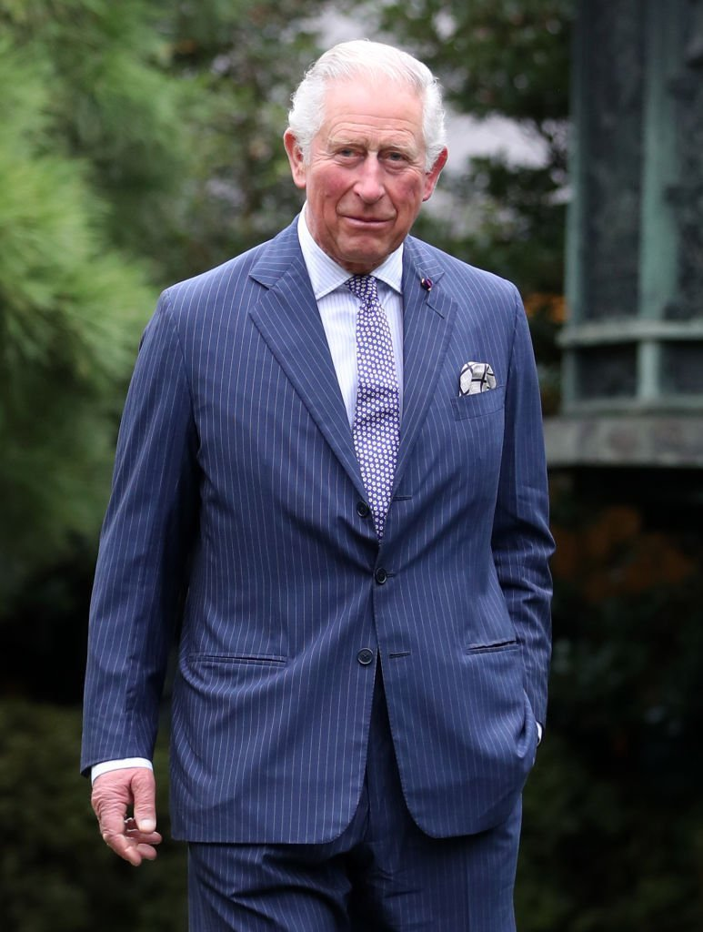 Prince Charles visits Nezu Museum and Gardens during the Royal Tour of Japan. | Photo: Getty Images