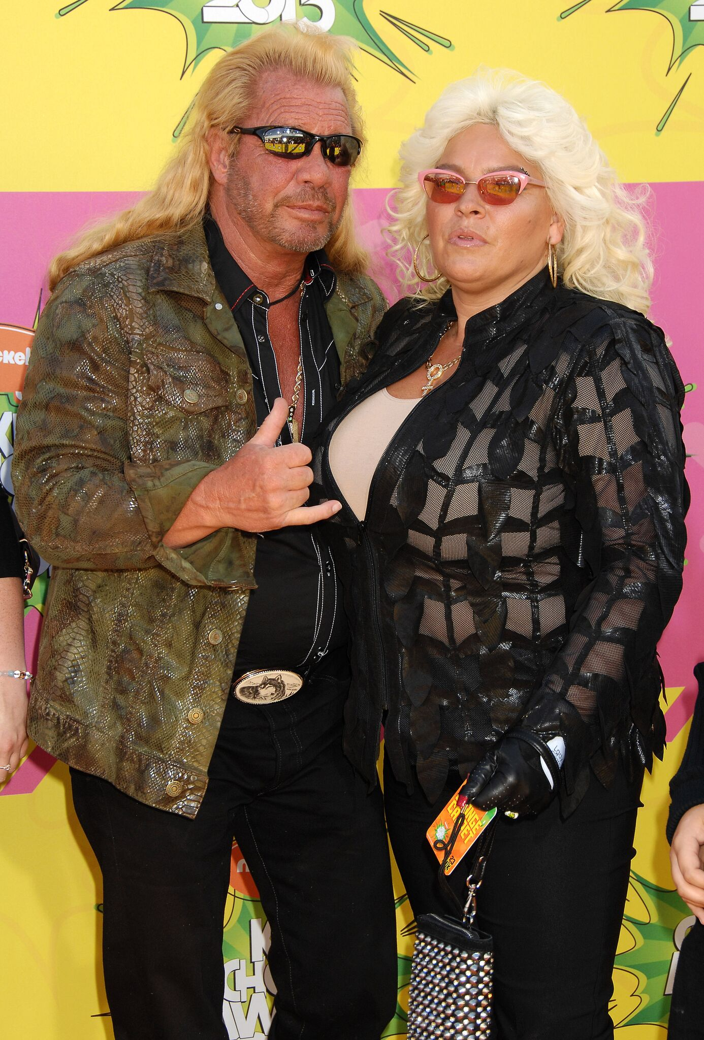 Duane Chapman, aka Dog the Bounty Hunter and Wife Beth arrives at the Nickelodeons 2013 Kids Choice Awards  | Shutterstock
