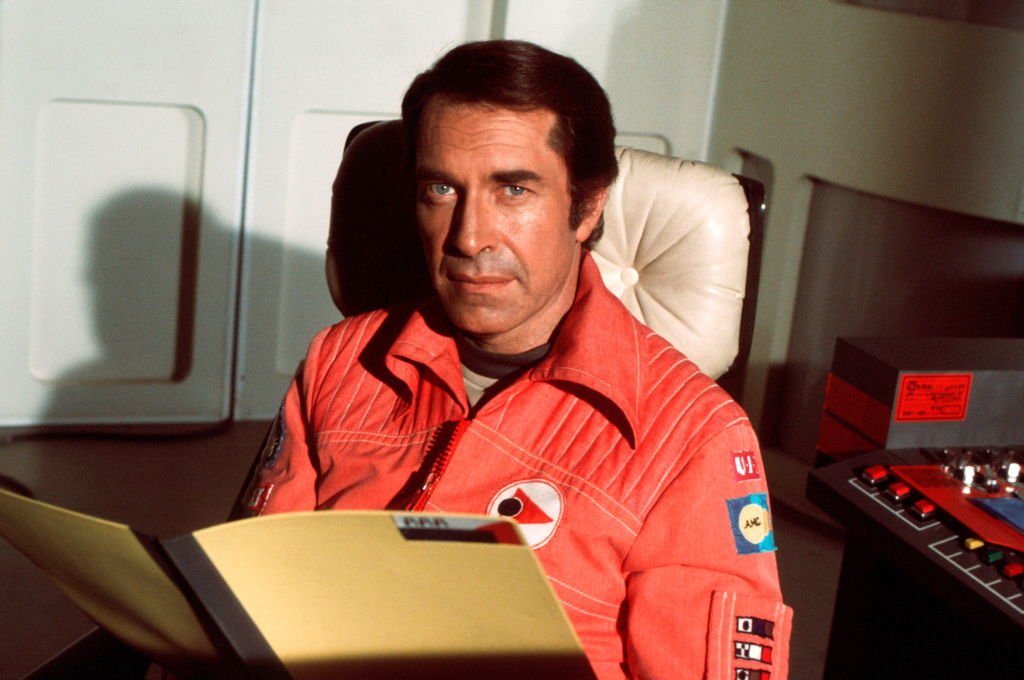 Actor Martin Landau in TV show 'Space:1999', Series 2, USA, 1977. | Photo: Getty Images