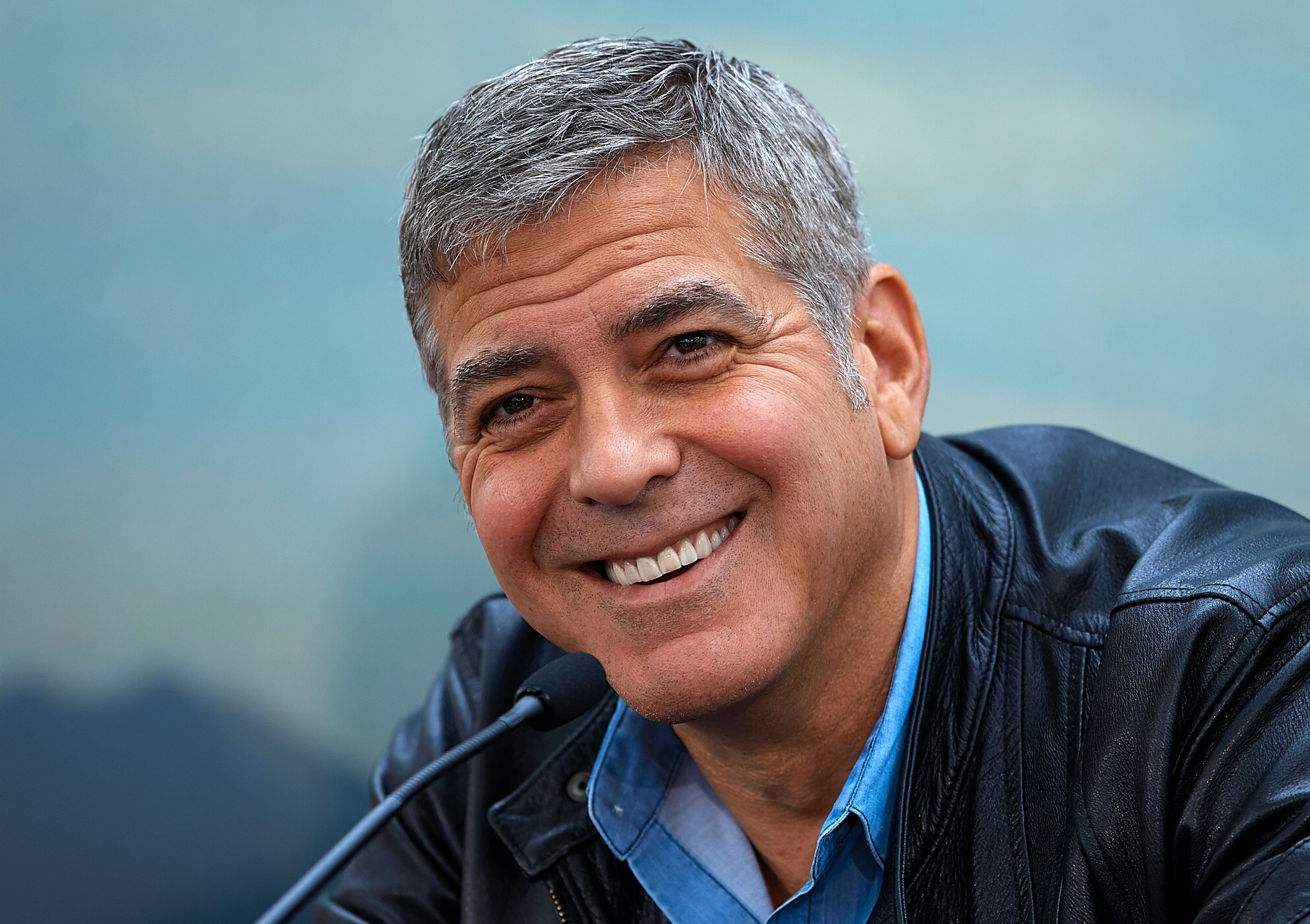 George Clooney at at the 'Tomorrowland' Press Conference at the L'Hemisferic on May 19, 2015 | Photo: Getty Images