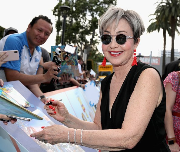 Annie Potts at the El Capitan Theatre in Hollywood, CA on Tuesday, June 11, 2019. | Photo: Getty Images