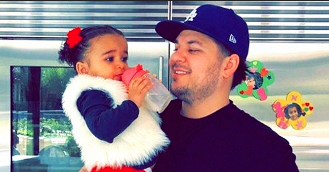 Rob Kardashian Shares New Photos of Daughter Dream in a White Outfit & Fans Say She Is Dad's Mini-Me