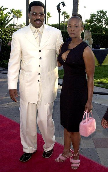 Steve Harvey Mary Lee Harvey in Hollywood, California on August 10, 2000. | Photo: Getty Images