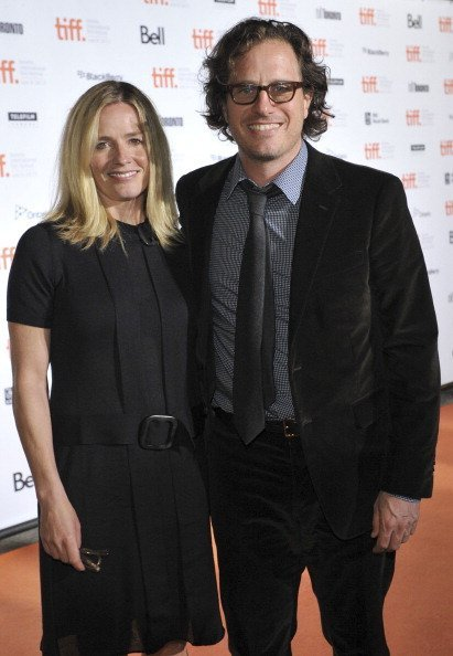 Actress Elisabeth Shue (L) and director Davis Guggenheim attend the Opening Night Party at Liberty Grand during the 2011 Toronto International Film Festival on September 8, 2011, in Toronto, Canada. | Source: Getty Images.
