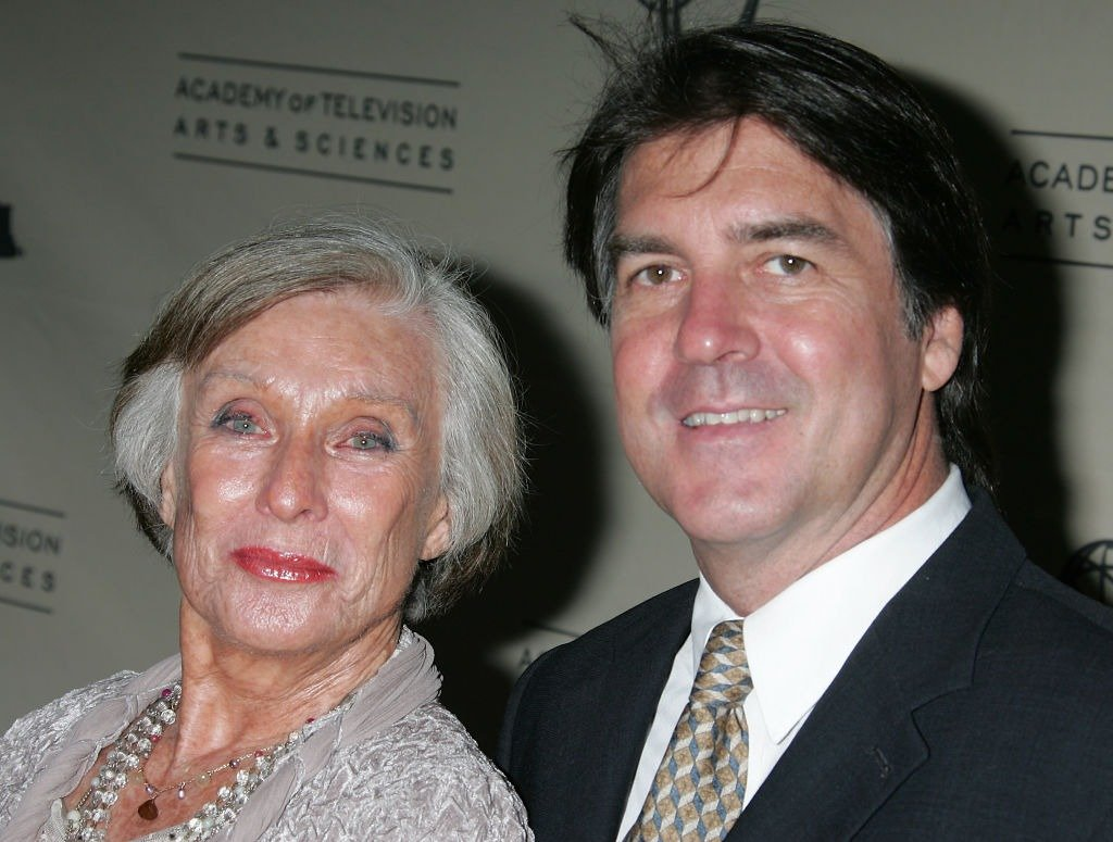"""Actress Cloris Leachman (L) and her son George Englund, Jr. attend """"A Mother's Day Salute to TV Moms"""" at the Academy of Television Arts & Sciences May 6, 2008 