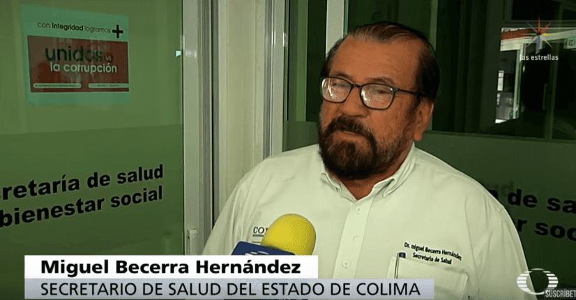 Secretario de Salud.   Imagen tomada de: YouTube/ Noticieros Televisa