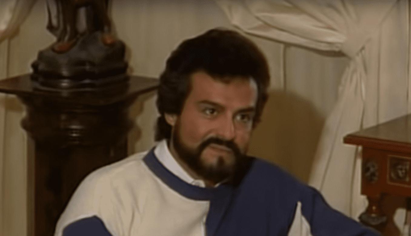 Gonzalo Vega en la telenovela 'Cuna de Lobos', 1986.   Imagen: YouTube/Historias Engarzadas