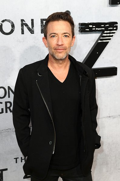 """David Faustino attends the L.A. premiere of National Geographic's 3-Night Limited Series """"The Hot Zone"""", which premieres Monday, May 27, 9/8c, at Samuel Goldwyn Theater on May 09, 2019, in Beverly Hills, California. 