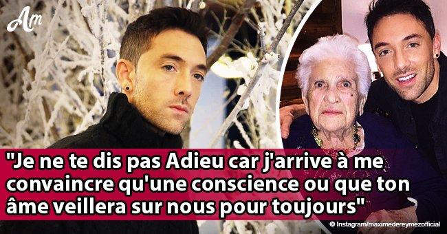 Maxime Dereymez en deuil partage un message douloureux: Sa grand-mère est morte
