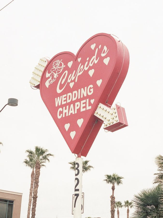 Peter and I married in Las Vegas | Source: Unsplash