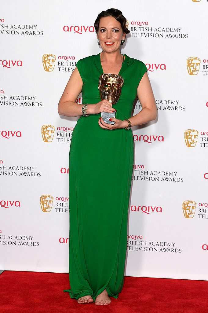 Olivia Colman during the Arqiva British Academy Television Awards at Theatre Royal on May 18, 2014 in London, England. | Source: Getty Images