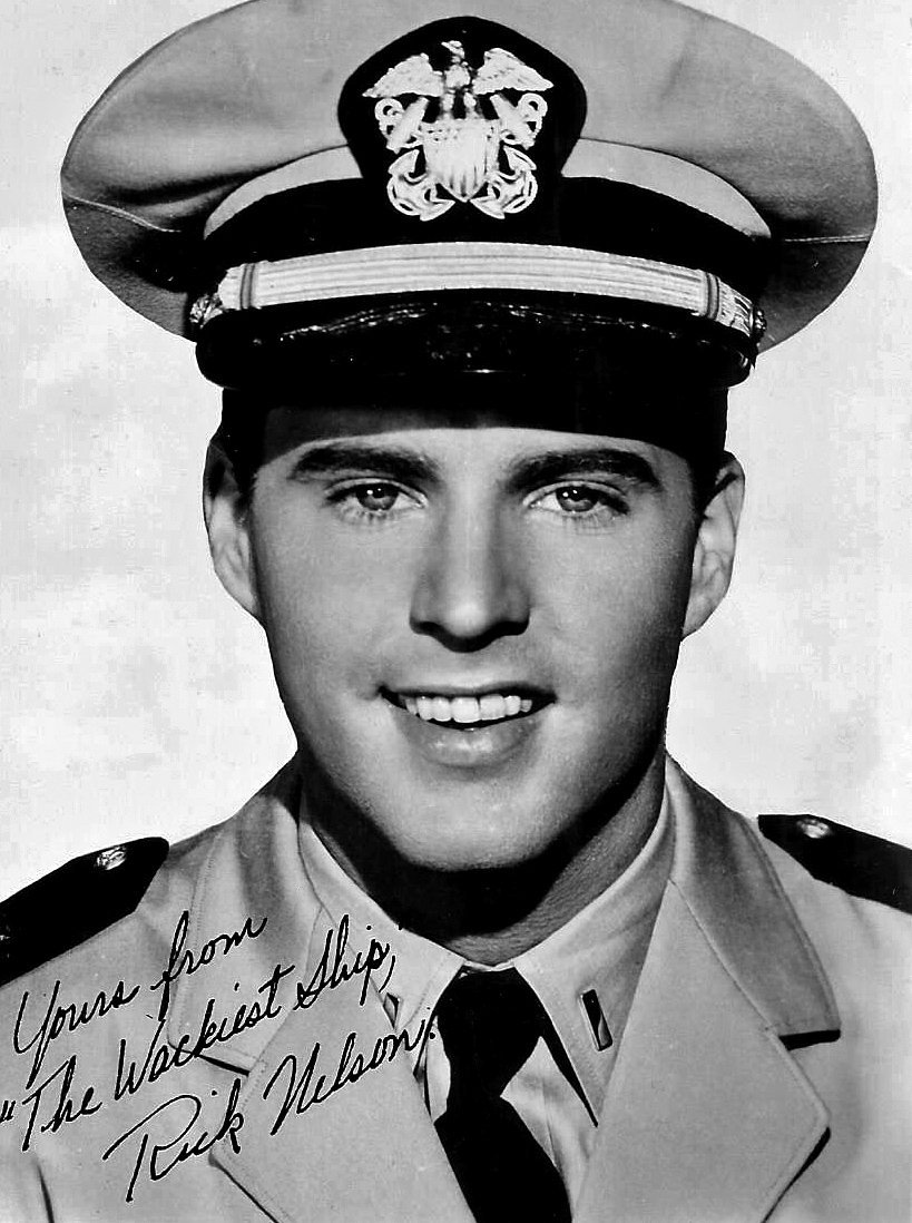 Publicity still of Rick Nelson for film The Wackiest Ship in the Army. | Photo: Wikimedia Commons Images