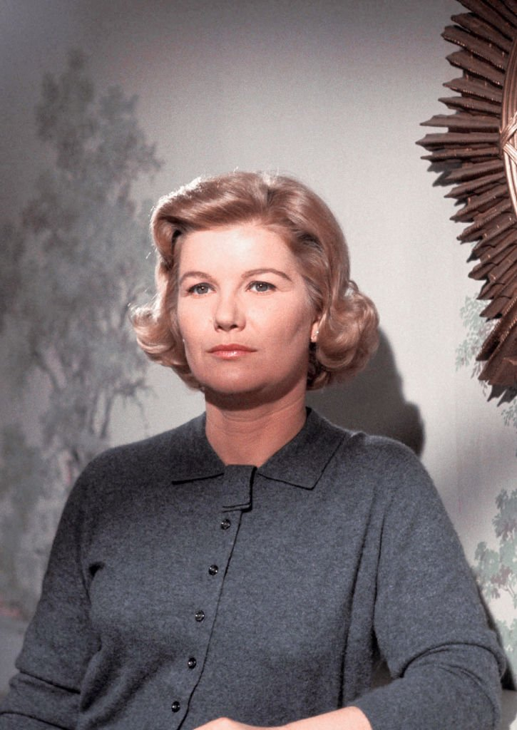 """Late Barbara Bel Geddes of """"Dallas"""" poses for a portrait in December 1960 in Los Angeles, California. 