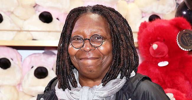 Whoopi Goldberg's Great-Granddaughter Shows Cool Dance Moves in Striped Top and Checkered Pants