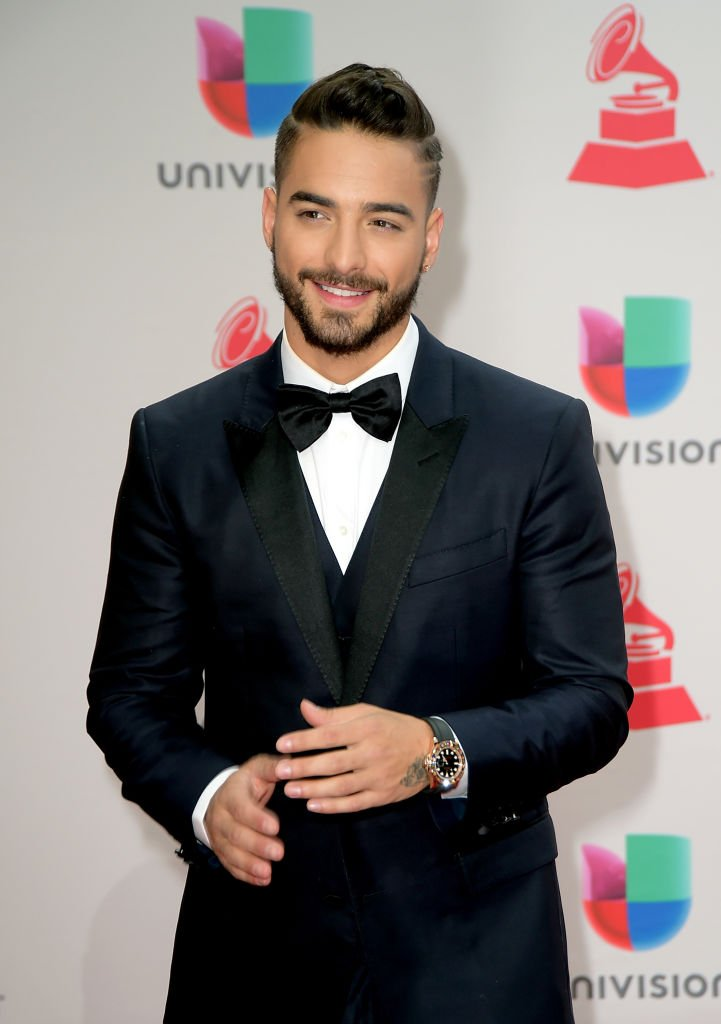 Maluma at the 18th Annual Latin Grammy Awards on November 16, 2017 in Las Vegas, Nevada. | Photo: Getty Images