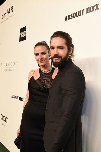 Heidi Klum und Tom Kaulitz, amfAR Gala Hong Kong, 2019 | Quelle: Getty Images