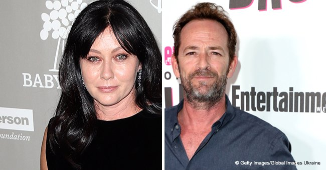 Shannen Doherty Is 'Devastated' by the Death of Luke Perry Who Helped Her during Cancer Struggle