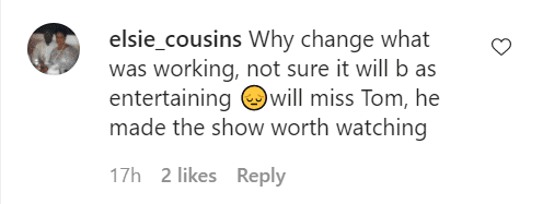 "A fan comments on a status by ""Dancing with the Stars"" on August 17, 2020 
