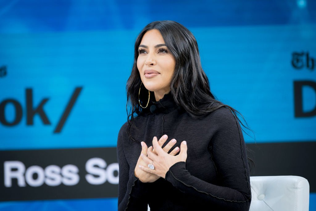 Kim Kardashian West speaks onstage at 2019 New York Times Dealbook | Photo: Getty Images