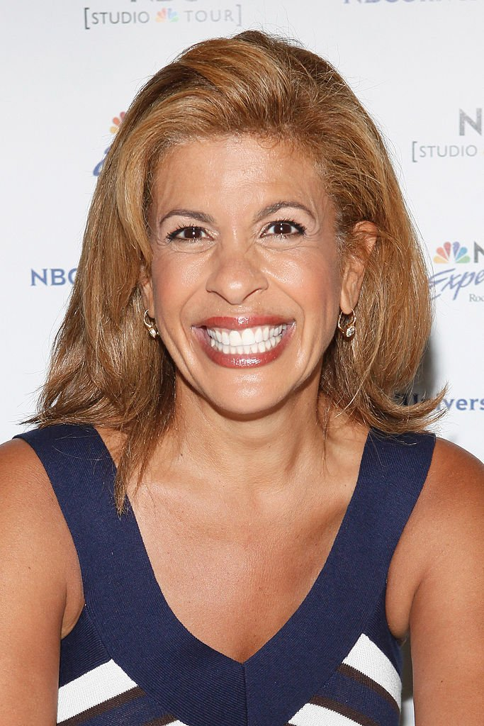 """Hoda promoting her book; """"Hoda: How I Survived War Zones, Bad Hair, Cancer, and Kathee Lee"""" on July 22, 2011 in New York City. 