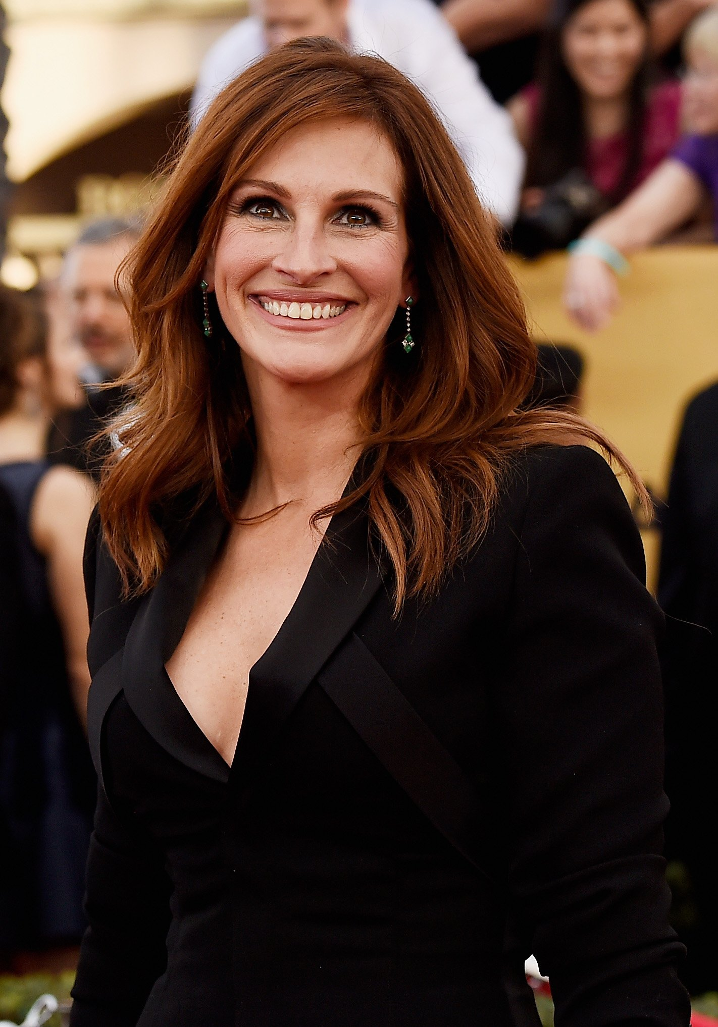 Source: Getty Images / Julia Roberts attends the 21st Annual Screen Actors Guild Awards at The Shrine Auditorium on January 25, 2015 in Los Angeles, California