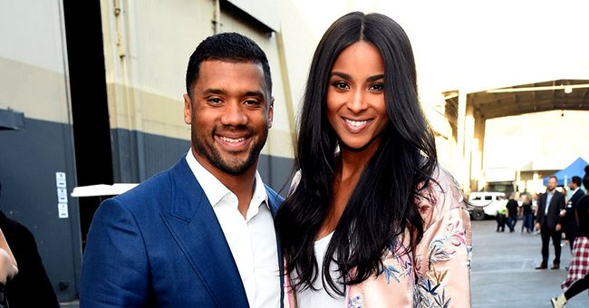 Ciara Flaunts Her Afro and Growing Baby Bump in an All-Black Outfit (Photo)