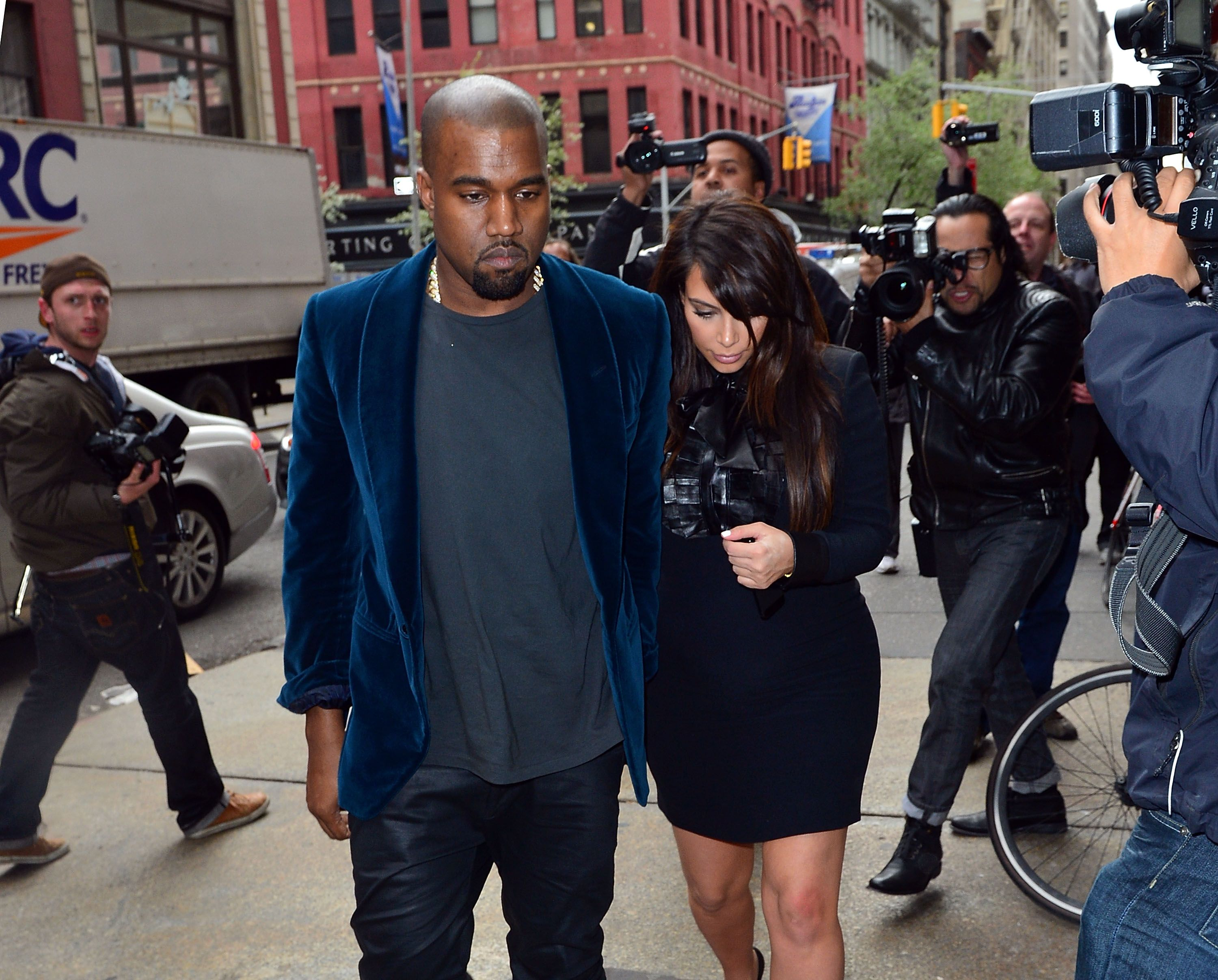 Kanye West and Kim Kardashian-West| Photo: Getty Images