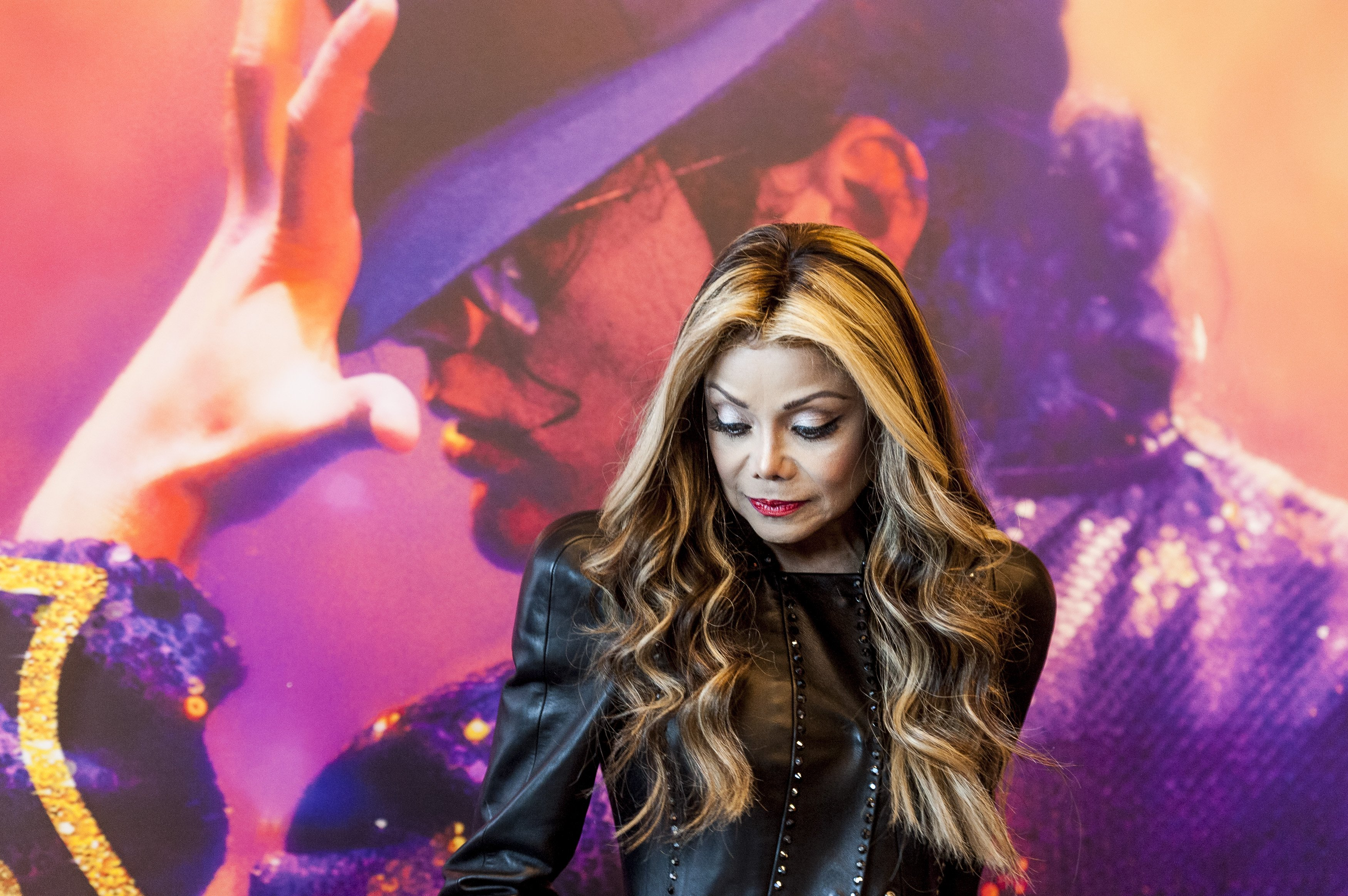 La Toya Jackson Attends 'Forever' Photocall in Madrid. | Photo: GettyImages